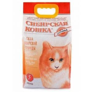 Наполнитель для кошачьего туалета Сибирская Кошка Оптима