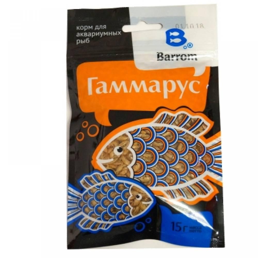 Корм для рыб Барром Гаммарус тушки (15г)