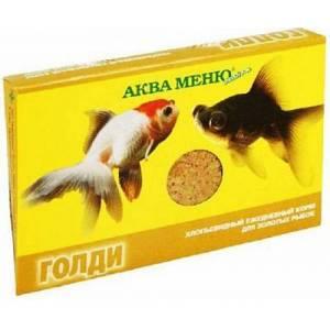 Корм для рыб Аква Меню Голди (хлопья)