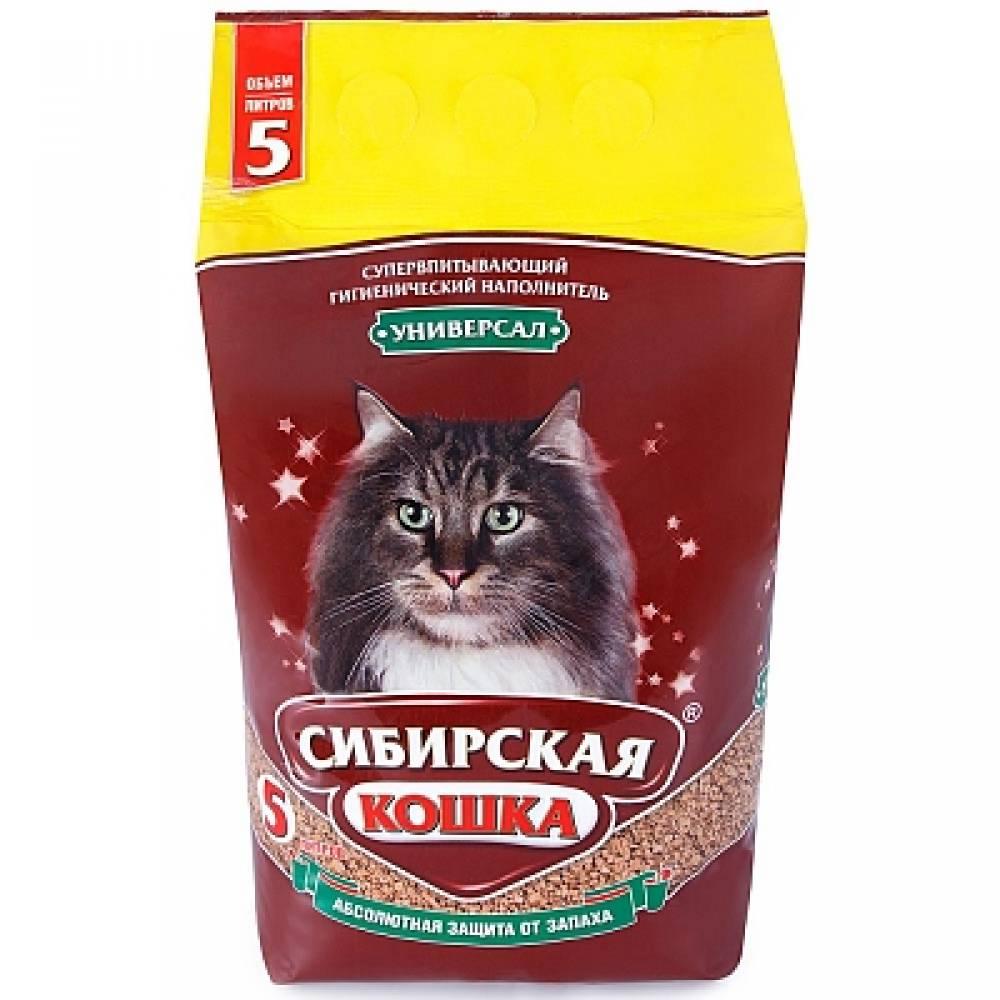 Наполнитель для кошачьего туалета Сибирская Кошка Универсал