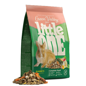 Корм для кроликов Little One Зеленая долина из разнотравья