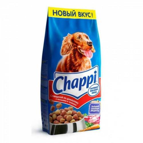 Chappi сухой корм для собак с говядиной по-домашнему