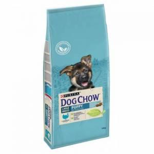 Purina Dog Chow Puppy Large Breed с индейкой в интернет зоомагазине globalshop.kg с доставкой до двери
