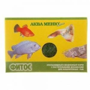 Корм для рыб Аква Меню, Фитос хлопья (11г)