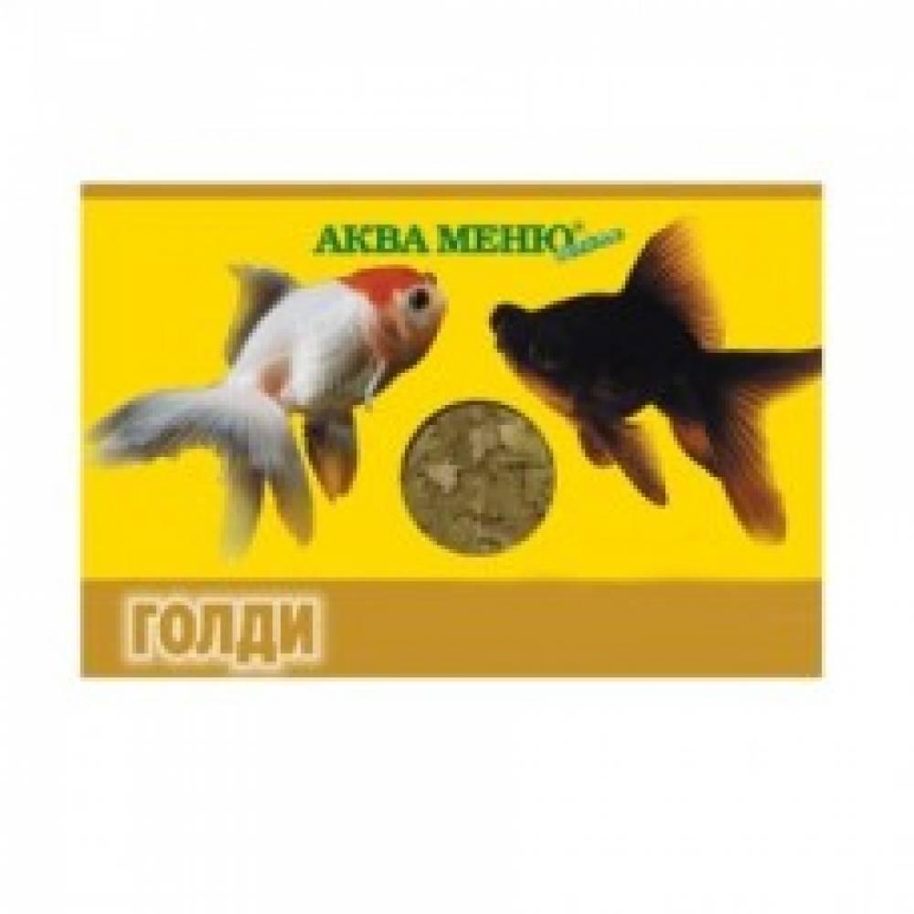 Корм для рыб Аква Меню Голди для золотых рыбок (хлопья)