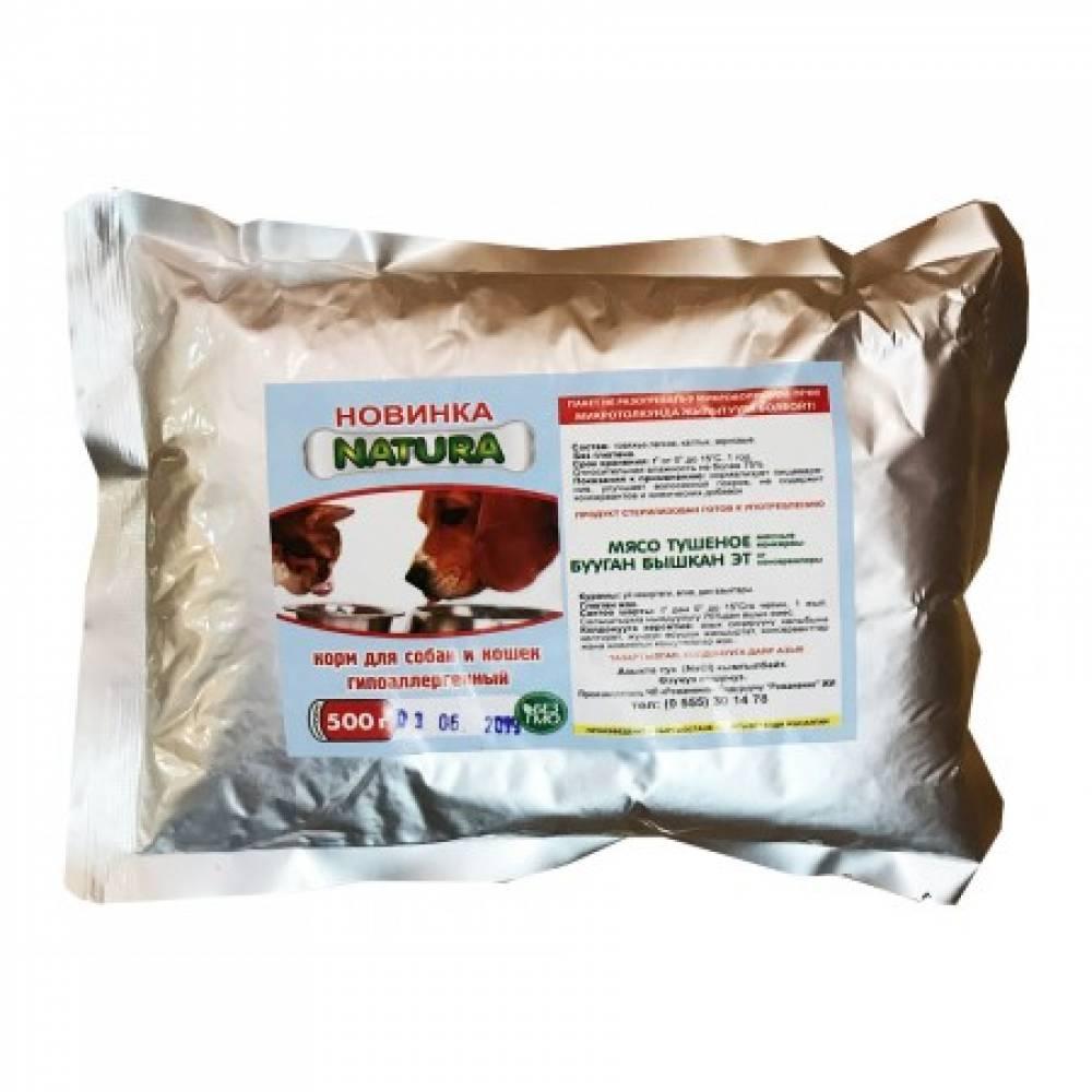 Natura гипоаллергенный корм для собак и кошек