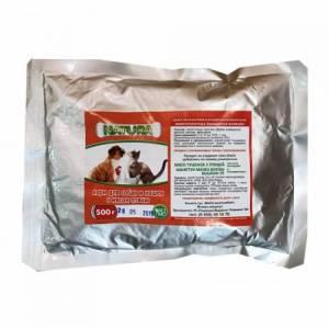 Natura корм для собак и кошек с мясом птицы, оранжевая