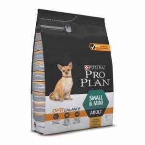 Pro Plan Optibalance для взрослых собак мелких и карликовых пород, с курицей