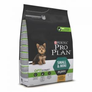 Pro Plan Optistart сухой корм для щенков мелких и карликовых пород, с курицей