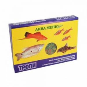 Корм для рыб Аква Меню, Тропи хлопья (11 г)